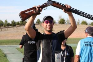 Il calabrese Antonio Barillà campione del mondo di tiro al volo
