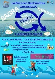 A S. Andrea Jonio la Sagra del Pesce Azzurro