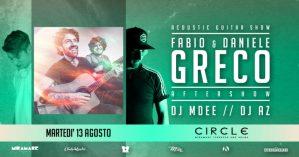 Martedì 13 Agosto Fabio & Daniele Greco al Miramare: Musica e Storia di Soverato