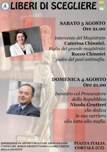 """A Cortale il 3 e 4 Agosto """"Liberi di Scegliere"""""""