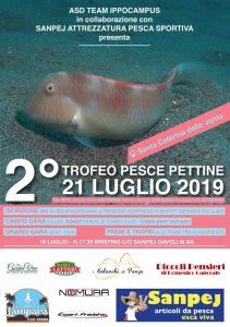 """Santa Caterina Jonio – Domenica 21 Luglio secondo """"Trofeo di Pesca al Pesce Pettine"""""""