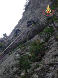 Vigili del fuoco calabresi in Campania per la ricerca dell'escursionista francese disperso