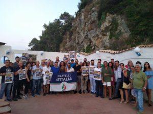 Stalettì – Fratelli d'Italia scende in piazza per dire no al governo salva poltrone