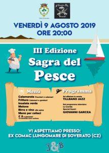 Soverato – Venerdì 9 Agosto la Terza Edizione della Sagra del Pesce