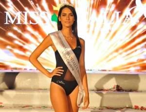 Anna Alfieri eletta Miss Calabria 2019
