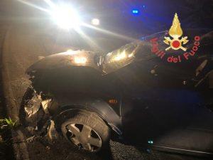 Auto si ribalta sulla SP181 tra Girifalco ed Amaroni, 4 feriti