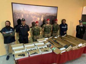 """'Ndrangheta – Operazione """"Orthrus"""", sequestrati armi e una bomba rudimentale"""