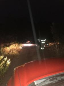 Auto in panne all'interno delle Valli Cupe di Sersale, coppia soccorsa dai VdF