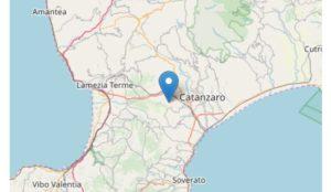 Nuova scossa di terremoto nel catanzarese