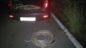 Sorpreso mentre ruba cavi di rame della rete di pubblica illuminazione, 30enne arrestato