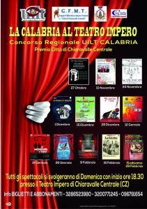"""Chiaravalle – Presentazione del Concorso Uilt  """"La Calabria al Teatro Impero"""""""