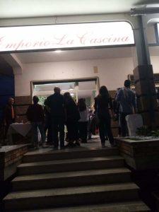 Inaugurazione di Emporio la Cascina a Davoli