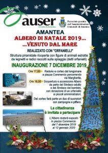 """Amantea, Albero di Natale 2019 con """"orfanielli"""""""
