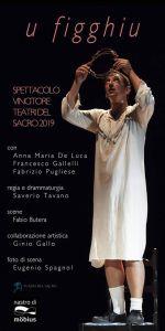 """Domenica 1 dicembre al Teatro del Grillo di Soverato in scena """"U Figghiu"""""""