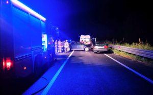 Incidente nella notte sulla SGC Jonio Tirreno, un morto e due feriti
