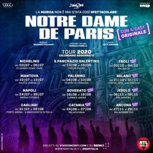"""Summer Arena di Soverato, ci sarà anche """"Notre Dame de Paris"""""""