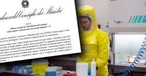 Emergenza Coronavirus, nuovo decreto: Ecco tutte le misure per ogni singola area