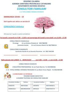 Emergenza Coronavirus – Attivi servizi di assistenza sociale online e telefonica