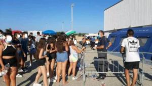 FOTO NEWS | I primi cento tamponi eseguiti a Soverato sono negativi