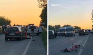 Anziano in bici muore travolto da auto sulla SS106 nel catanzarese
