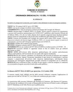 Caso Covid, il Sindaco di Soverato chiude l'ITT Malafarina
