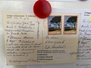 Cartolina arriva da Roma in Germania dopo 51 anni!
