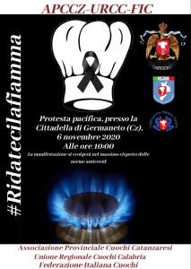 Venerdì 6 novembre davanti la Cittadella Regionale presidio di protesta di cuochi e ristoratori