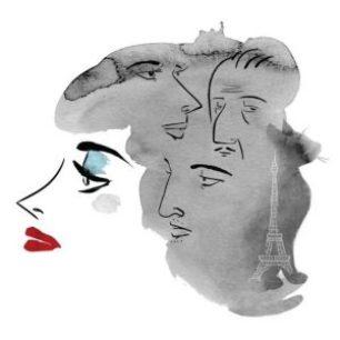 Sortie côté tour, French translation by Sophie Voillot