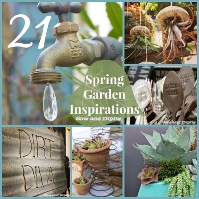 21 spring garden inspirations