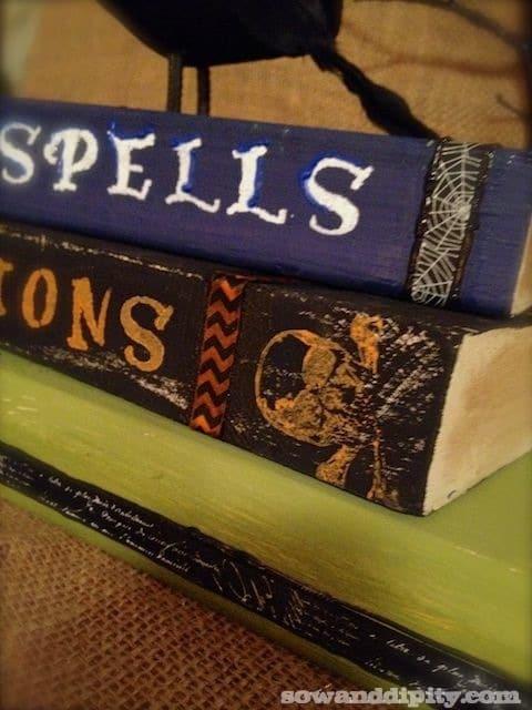 DIY Spooky Books (6)