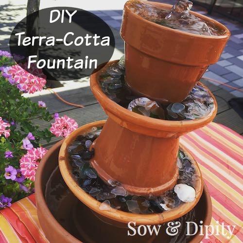 DIY Terra-Cotta Fountain