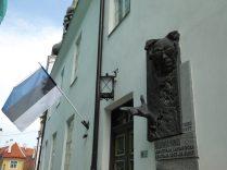 Cette photo, je l'ai prise juste parce qu'il y a le drapeau estonien et un type qui s'appelle Voldemort... hehe