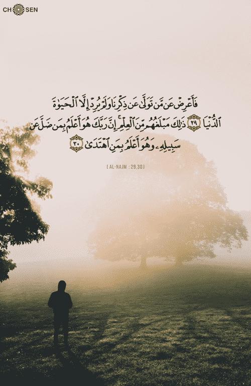 صور انستجرام اسلامية مكتوب فيها آيات من القرآن