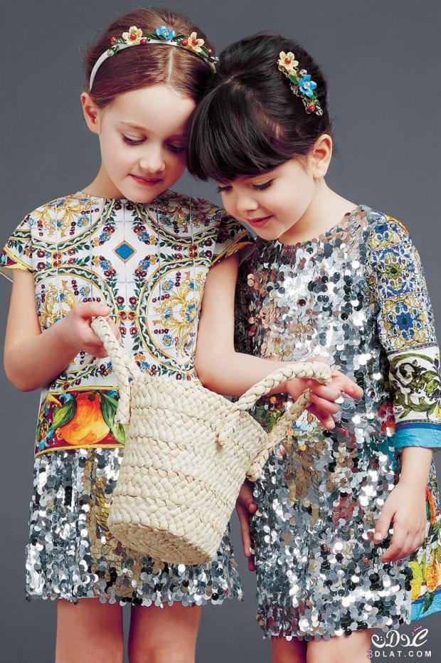 صور أحدث أزياء عيد الفطر للبنات جديدة