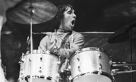 Keith Moon keeping time for The Who.