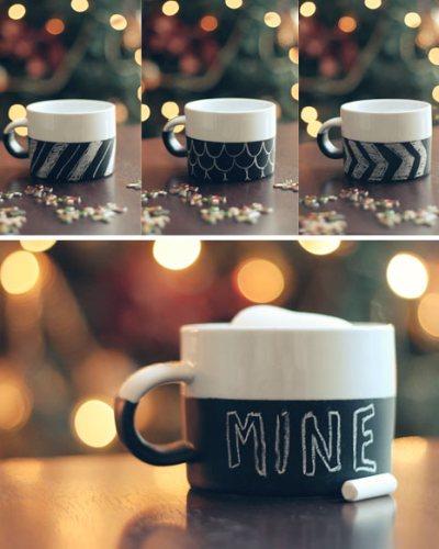 Monday Mini Project-Chalkboard Mug