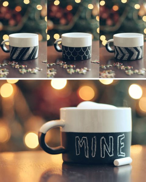 Monday Mini Project-Chalkboard Mug