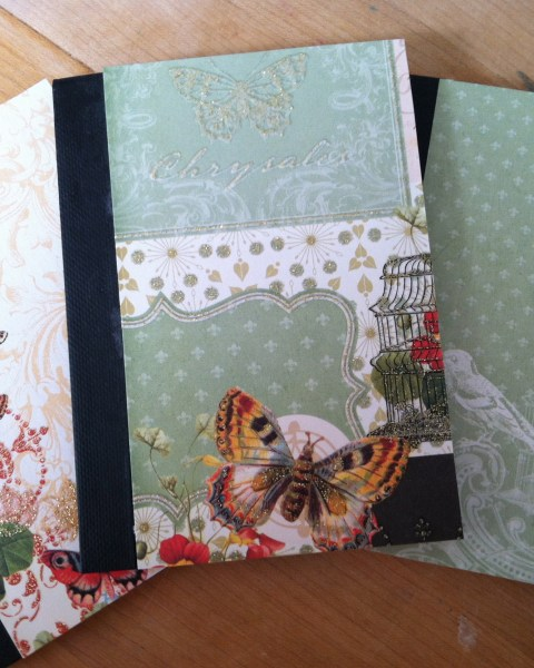 Monday Mini Project: Altered Composition Notebooks