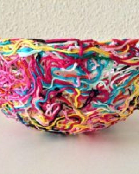 DIY Mini Project: Yarn Bowl