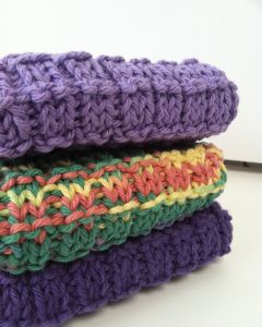 DIY Mini Project: Knitted Wash Cloth