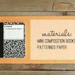 DIY Mini Project ~ DIY Mini Journal