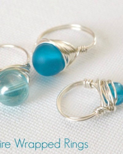 How To: Wire Wrapped Rings