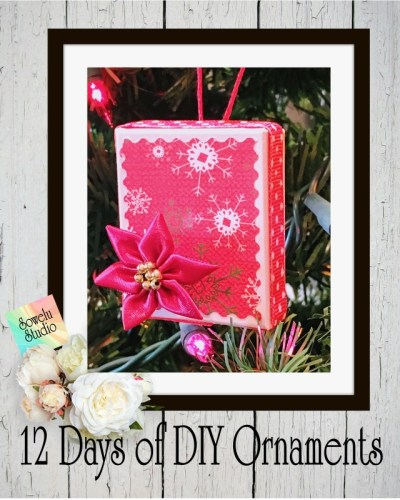 12 Days of DIY Christmas Ornaments ~ Day Eight