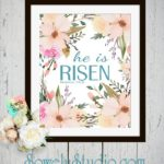 Easter Wall Art Printable ~ Free Download