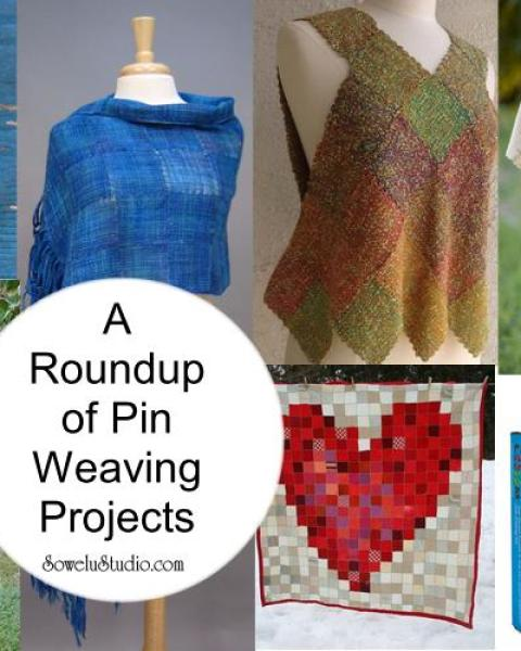 Zoom Loom Weaving ~ A Roundup of Pin Weaving Projects!