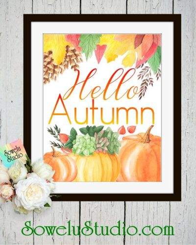A FREE Autumn Printable
