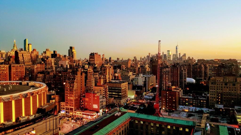 NYC Skyline Dusk