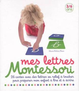 coffret Lettre rugueuses Montessori Nathan