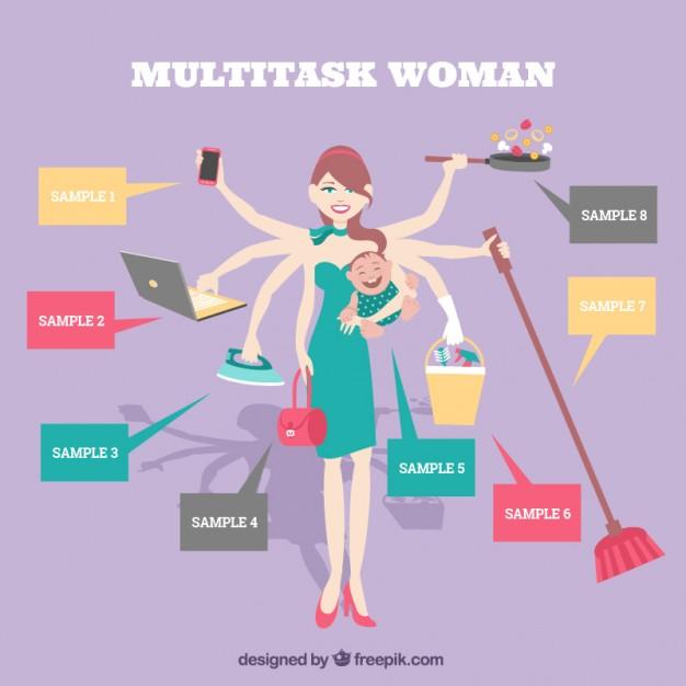 multitache-femme
