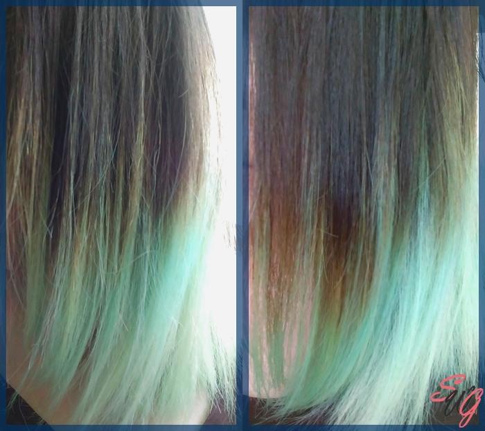 Test sur cheveux lisses